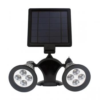 Foco Led Solar Nida Rgb 3W