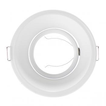 Aro Basculante Circular 90º Blanco Para Gu10/mr16