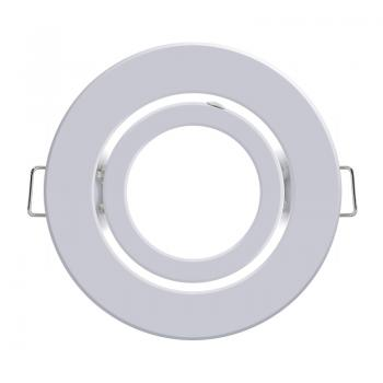 Aro Basculante Redondo Blanco Serie Eco Para Gu10/mr16