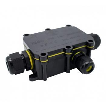 Caja Con Tres Conectores Ip68