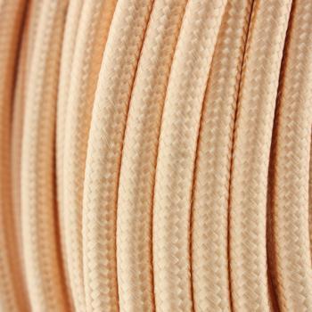 Cable Textil Dorado - 25 Metros