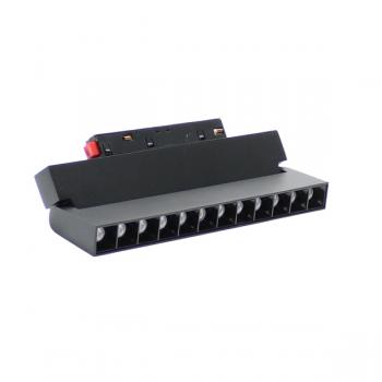 Foco Led Aotrom 12W Para Carril Magnético Negro 48V