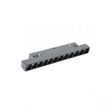 Foco Led Lumiere 12W Para Carril Magnético Negro 48V