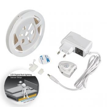 Kit Tira de Led 12V Dc Smd2835 Bed Lighting Ip20 - 1.20 Metros