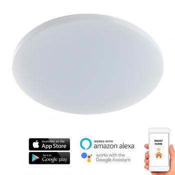 Plafón Led Smarthome Rainbow 24W Ip54 Wifi App