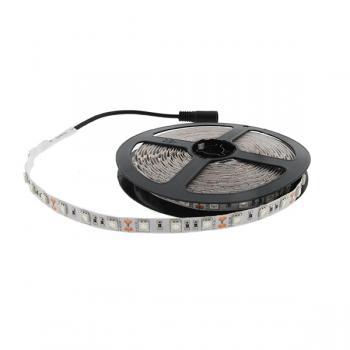 Tira de Led 12V Dc Smd5050 Ip20 Ultravioleta 60 Led/m - 5 Metros