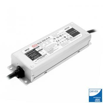 Driver Meanwell Xlg-200-H-A Para Foco Modular Led Speed / Heatsing 200W