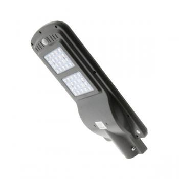 Projetor Solar Led Para Iluminação Pública 40W Com Sensor