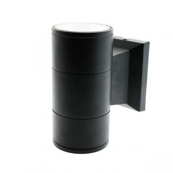 Aplique de Parede Led Tube Black 2X3W Ip54