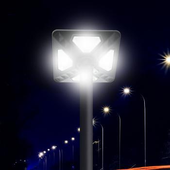 Luminária Solar Led Kain Para Iluminação Pública 80W